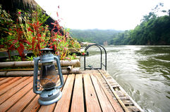 On the Bank of the River Kwai Royalty Free Stock Image
