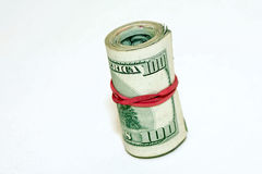 Bank roll Royalty Free Stock Photography