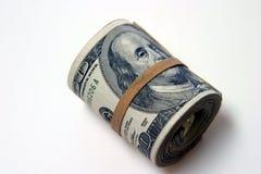 bank roll odizolowane white Zdjęcie Stock