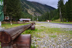 Rustic bench Royalty Free Stock Photo