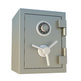 Bank Safe. 3d Bank Safe Isolated on White Stock Photography
