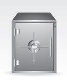 Bank safe. Illustration on white background Stock Photo