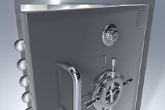 Bank safe close up Stock Image