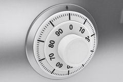Bank Safe combination lock Stock Images