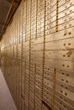 Bank Safe Deposit Boxes Royalty Free Stock Images