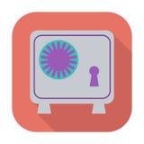 Bank safe icon. Stock Photos