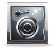 Bank safe icon Stock Image