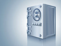 Bank safe for money storage Royalty Free Stock Photos