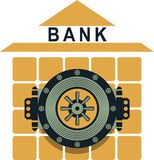 Bank safe Royalty Free Stock Photos