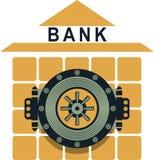 Bank safe Royalty Free Stock Photos