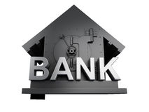 Bank Safe. security concept. Image of Bank Safe. security concept on white background. 3d illustration Royalty Free Stock Photos