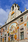 Bank of Saint George at Palazzo San Giorgio, Genoa Stock Image