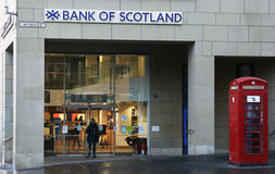 Bank of Scotland Stock Images