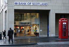 Bank of Scotland Royalty Free Stock Images
