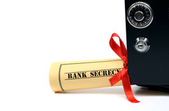 Bank secrecy Royalty Free Stock Images