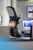 Bank security guard Royalty Free Stock Photos