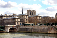 Bank of the Seine in Paris Royalty Free Stock Photo