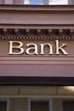 Bank Sign Royalty Free Stock Images