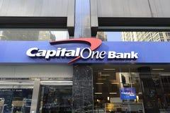 Bank signage Stock Photo