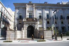Bank of Spain  HQ in Granada Stock Photography