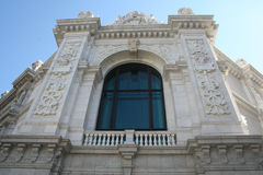Bank of Spain, Madrid Stock Images