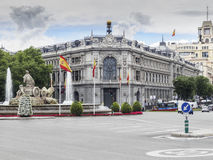 The Bank of Spain Royalty Free Stock Photography