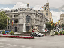 The Bank of Spain Royalty Free Stock Photos