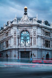 Bank of Spain Old Building Royalty Free Stock Image