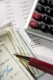 Bank statement Stock Photography