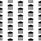 Bank symbol seamless pattern Stock Images