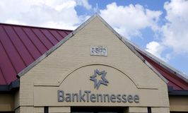 Bank Tennessee Sign Stock Images