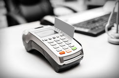 Bank terminal Royalty Free Stock Photography