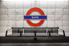 Bank Underground Station London Stock Photos
