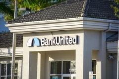 Bank United Branch Royalty Free Stock Image