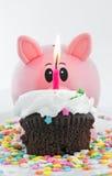 bank urodzinowy szczęśliwa świnko zdjęcie royalty free