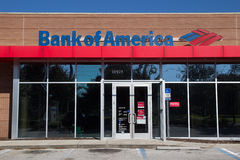Bank van Amerika Stock Foto