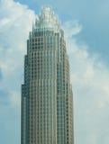 Bank van Amerika/wolken Royalty-vrije Stock Foto's