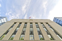 Bank van Canada, Ottawa Stock Afbeelding