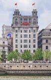Bank van de Bouw van Taiwan, Shanghai, China stock fotografie