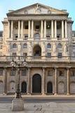 Bank van Engeland, Londen, Engeland, het UK, Europa Royalty-vrije Stock Afbeelding