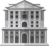Bank van Engeland Londen Vector geïsoleerde illustratie Stock Fotografie