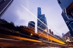 Bank van HK van China in Hong Kong Stock Afbeelding