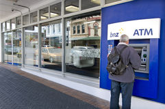 Bank van Nieuw Zeeland (BNZ) Stock Foto