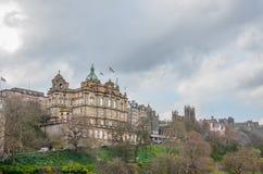 Bank van Schotland in Edinburgh Schotland stock fotografie