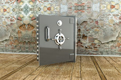 Bank vault royalty free illustration