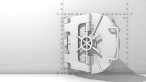 Bank vault. To safe your money Royalty Free Stock Images
