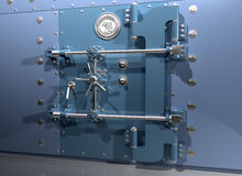 Bank Vault. Illustration of a very secure bank vault Stock Images