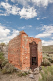 Bank vault in Bodie ghost town, California Royalty Free Stock Photos