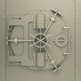The bank vault Stock Images