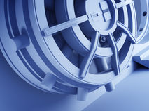 Bank vault door 3d Royalty Free Stock Image